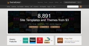 Menjual Desain Template Blog